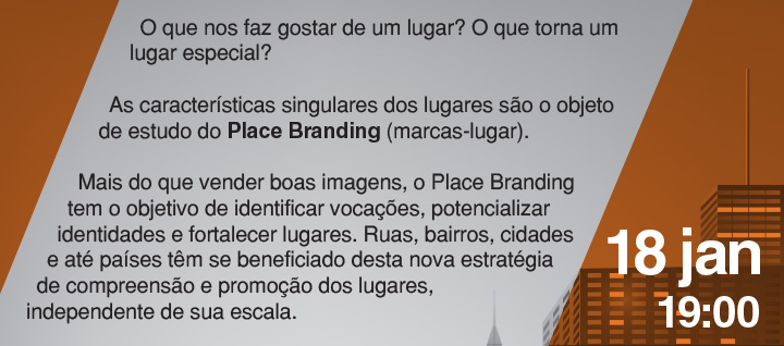 Palestra: Place Branding